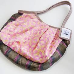 sisiミニグラニーバッグ インド刺繍(ピンク)