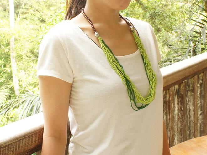 バリ製ネックレス